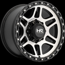 Hardrock - H103 - Black & Machined