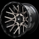 V-Rock Off-Road - VR10 Recoil - Black & Machined Dark Tint