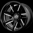 V-Rock Off-Road - VR12 Throne - Satin Black Milled